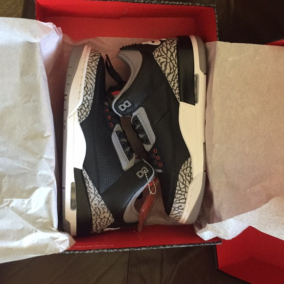 07948af47e45 2018 Air Jordan 3 Retro OG Black Cement Size 8 DS!